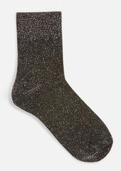 Topshop Clothing /Tights Socks /Deep Welt Glitter Socks