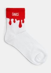 Topshop Clothing /Tights Socks /Sauce Slogan