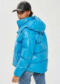 Cobalt Blue Puffer Jacket