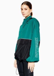 Topshop Colour Block Jacket By Ivy Park