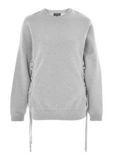 Corset Side Sweatshirt