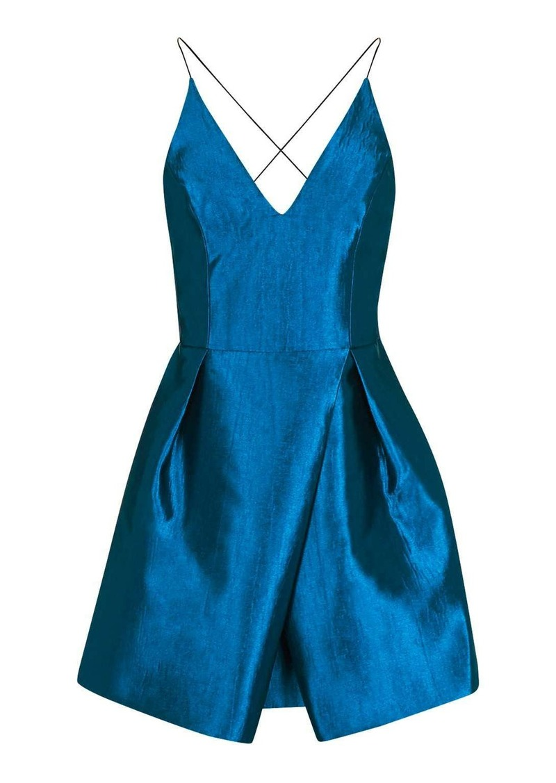 504295dd0eed Topshop Crinkle Satin Prom Dress