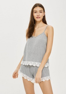 Crochet Trim Camisole Top
