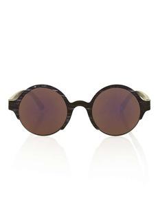 Cutout Round Sunglasses