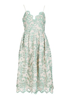 565f066a5fa7 Topshop Cutwork Leaf Prom Dress | Dresses