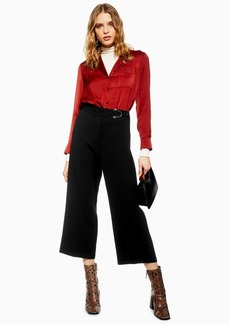 Topshop D Ring Cropped Trousers