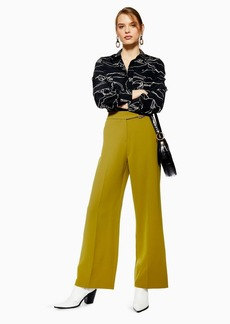 Topshop D Ring Wide Leg Trousers