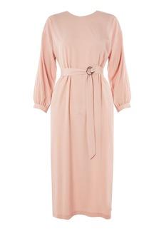 Topshop D Ring Wrap Midi Dress