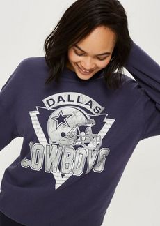 Dallas Cowboys Sweatshirt By Topshop X Nfl