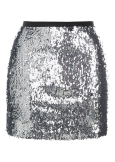 Dazzling Sequin Mini Skirt