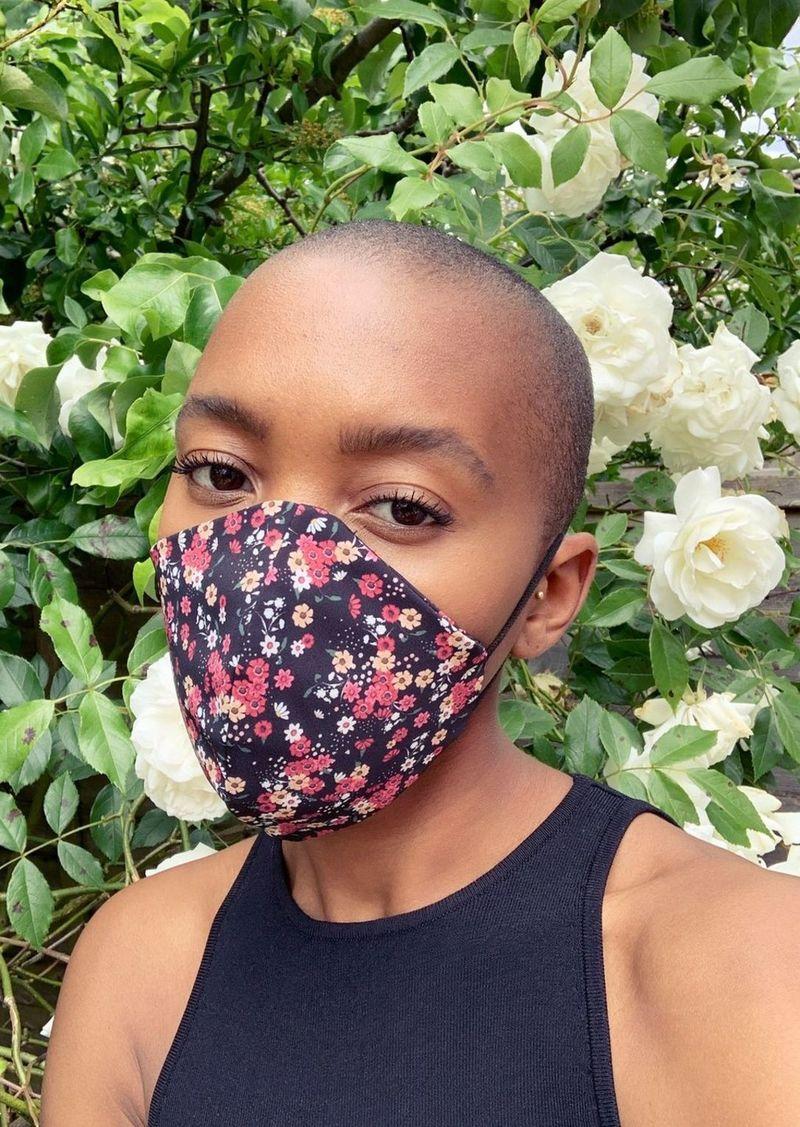 Topshop Clothing /New Semester /Ditsy Floral Print Fashion Face Mask
