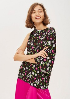 Topshop Ditsy Print Kimono Top By Boutique