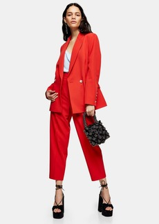 Topshop Double Breasted Suit Blazer