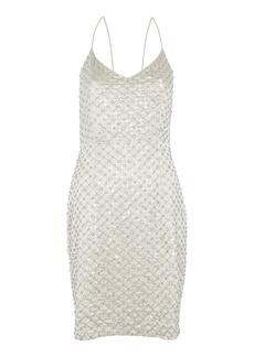 Embellished Strappy Dress