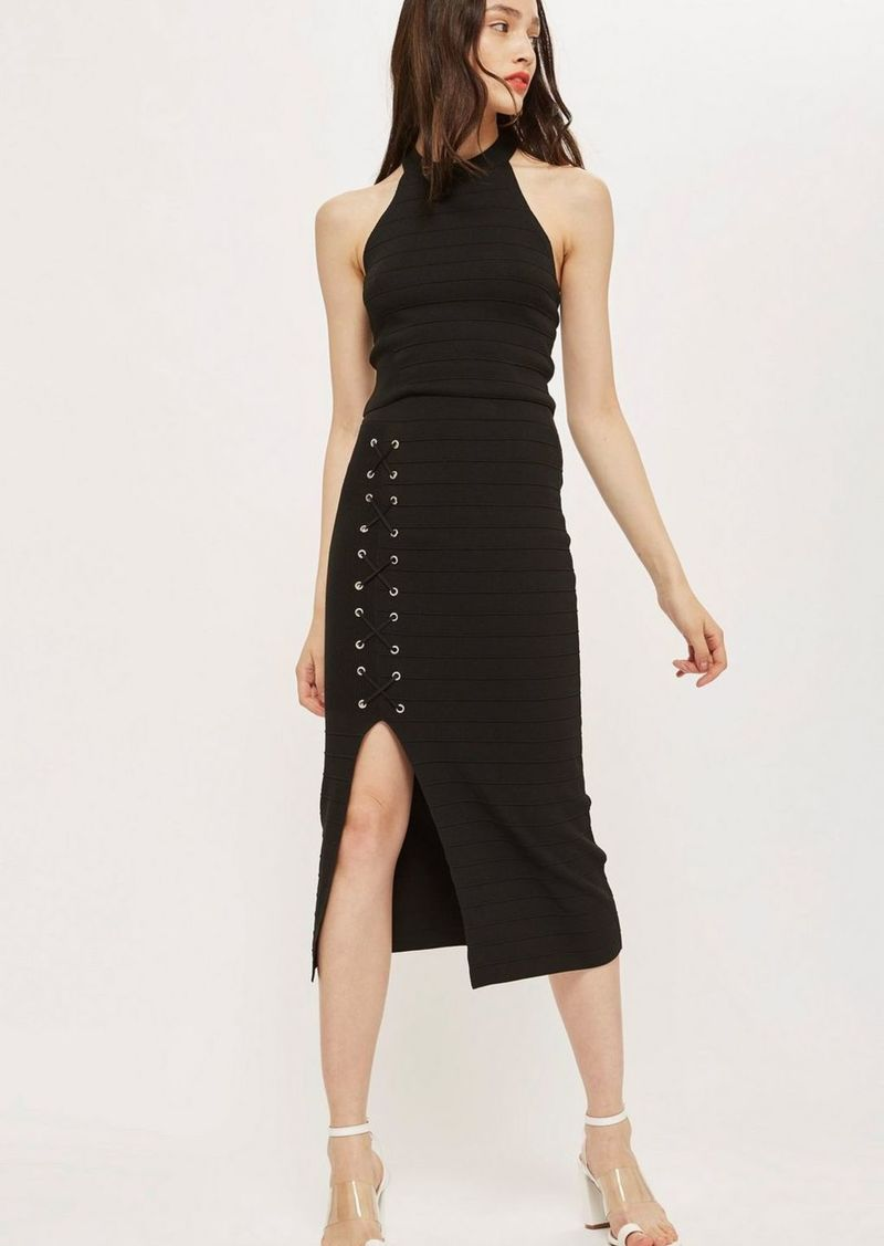 Topshop Eyelet Co Ord Skirt