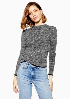 Topshop Feeder Knitted Jumper