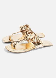 Topshop Fleur Fringed Sandals