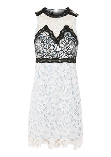 Topshop Floral Lace Dress