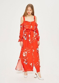 Topshop Floral Maxi Dress By Yas