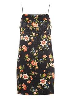 Topshop Floral Print Slip Dress