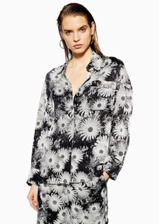 Topshop Floral Shirt By Boutique