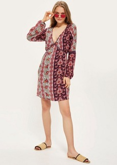Topshop Floral Smock Dress By Band Of Gypsies