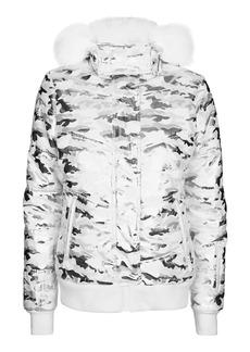 Foil Camo Ski Jacket By Topshop Sno