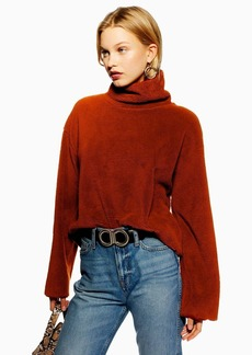 Topshop Funnel Neck Sweatshirt By Native Youth