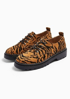 Topshop Furnace Tiger Lace Up Shoes