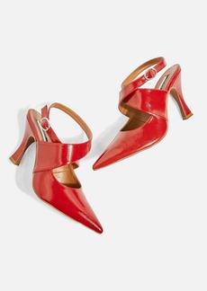 Topshop Galactic Cross Strap Court Shoes