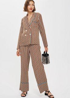 Topshop Geometric Print Pyjama Trousers