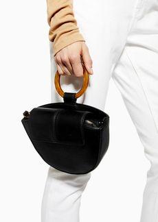 Topshop Gigi Round Handle Grab Bag