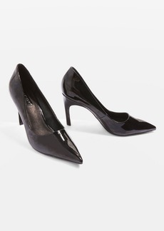Topshop Glimpse Angled Heel Court Shoes