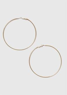 Topshop Gold Large Hoop Earrings