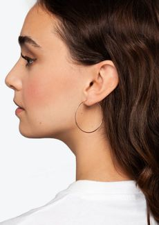 Topshop Gold Tone Hoop Earrings Multipack