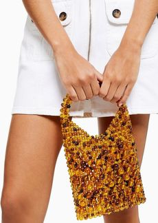 Topshop Goldie Beaded Grab Bag