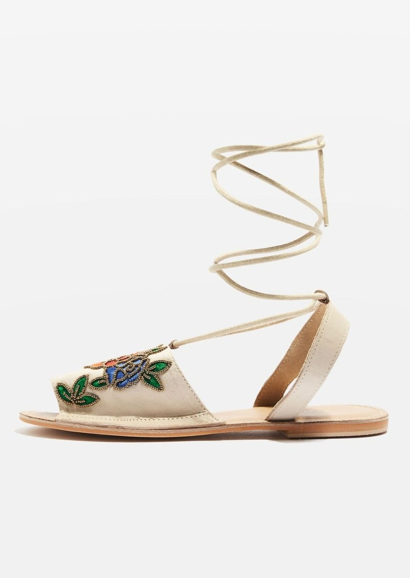 b8e9968900e5 Topshop Halle Embroidered Sandals