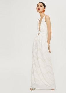 Topshop Halter Neck Bridal Gown By Flynn Skye