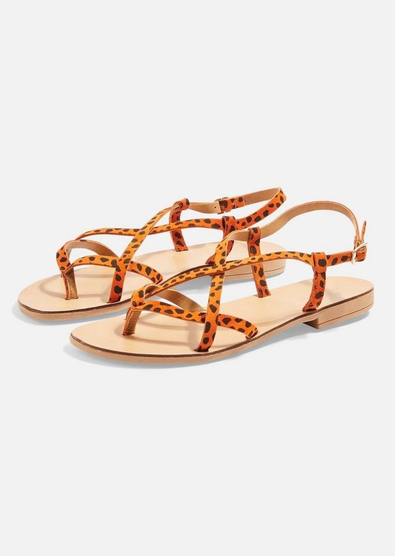 Topshop Hayley Orange Sandals