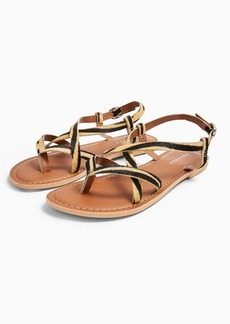 Topshop Hazy Leather Sandals