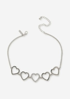 Topshop Bags Accessories /Jewelry /Heart Choker Necklace