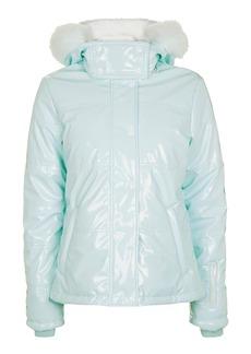High Shine Ski Jacket By Topshop Sno