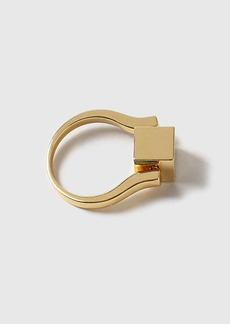 Topshop House Of Freedom Cube Spinner Ring