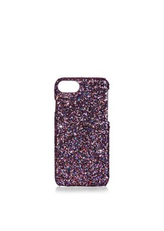 Topshop Iphone Glitter Case For