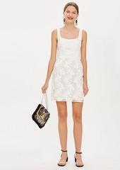 Topshop Jacquard Mini Dress By Boutique