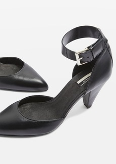 Topshop Jazzie Two Part Cone Heel Shoes