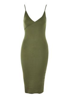 Topshop Jersey Midi Bodycon Dress