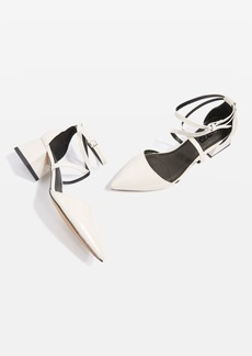 Topshop Jolly Mid Heel Pointed Court Shoes