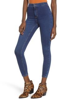 Topshop Joni High Waist Crop Skinny Jeans