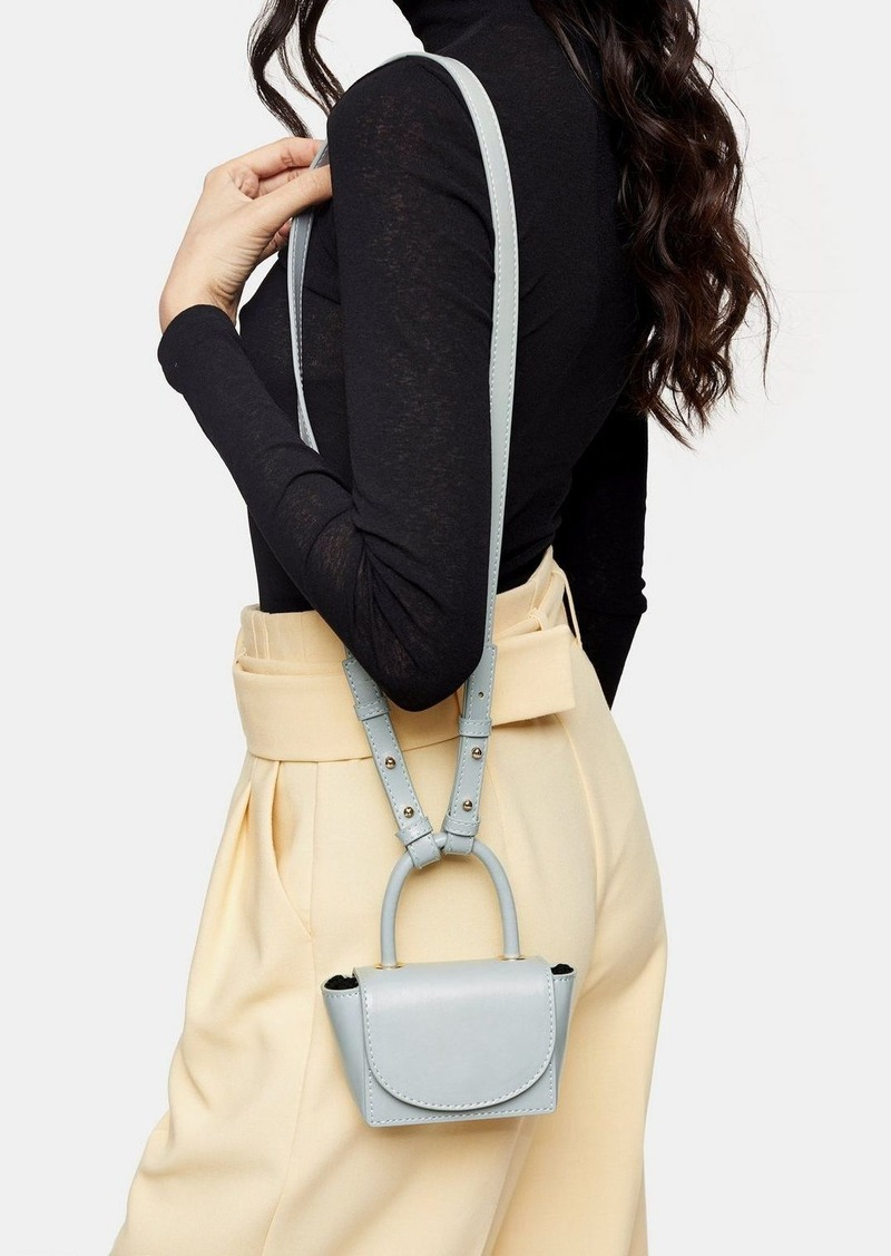Topshop Ken Blue Mini Cross Body Bag